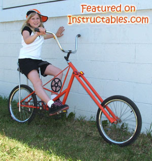 You can build a custom chopper using basic tools and skills.